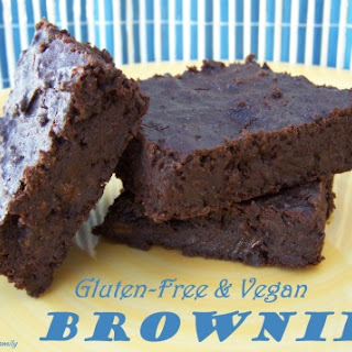 Brownies (Gluten-free and Vegan)