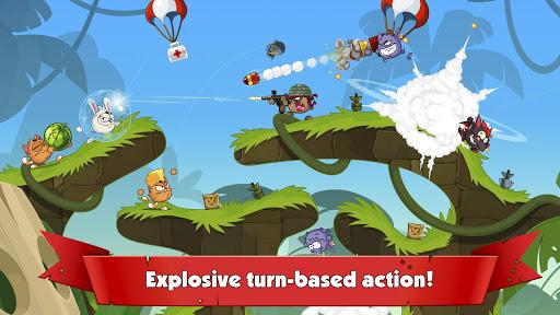 Wormix: Team Tactics PVP & Multiplayer Battles  captures d'écran 1