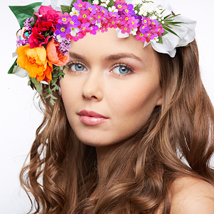 Crown Beauty Plus - Makeup Flower Photo Perfect Icon