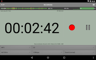 Screenshot of All That Recorder Lite