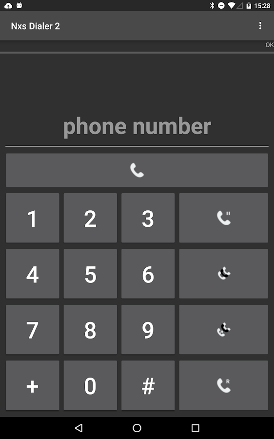 NXS Dialer 2- screenshot