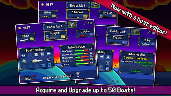 Pixel Boat Rush Screenshot 3