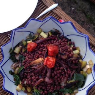 Caramelised Leek Salad