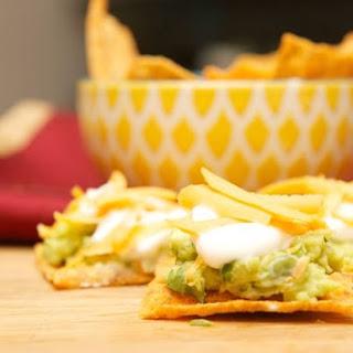 Harvest Cheddar Guacamole Appetizer #UniqueInEveryWave.