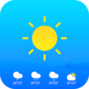 Real-time Weather & Temperature Widget