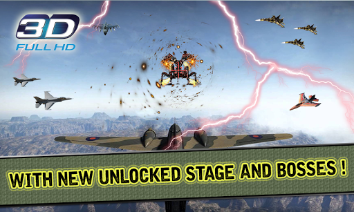 SKY FIGHTER STRIKE 3D