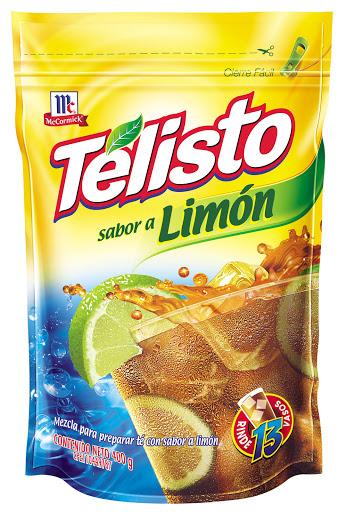 bebida en polvo telisto limon 400gr