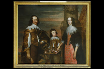 """Photo: David, Margaret and Pyers Pennant - ancestors of Thomas Pennant 1726-1798 (so not blood ancestors but we are named after them). Thomas Pennant who wrote of them:  """"David Pennant, esq. of Bychton, sheriff of Flintshire in 1642. This gentleman, during the civil wars, adhered to the royal cause, and held a major's commission in that service. He was an officer in the garrison of Denbigh when it was besieged and taken by my maternal great great grandfather, General Mytton. My loyal ancestor suffered there a long imprisonment Bychton was plundered, and the distress of the family so great, that he was kept from starving by force of conjugal affection, for his wife often walked with a bag of oatmeal from the parish of Whiteford to Denbigh to relieve his wants."""" • He m. Margaret, daughter and heiress of John Pennant, esq. of Holywell, and by her, who d. in 1710, had issue, Pyers, his heir."""""""