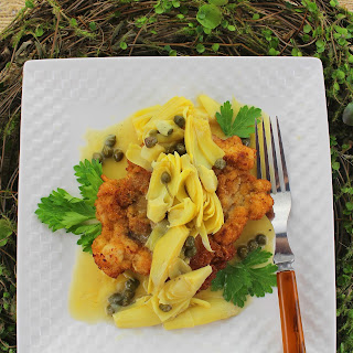 Chicken Schnitzel with Dunkelweizen Sauce Recipe