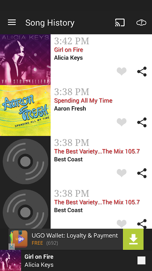 The Mix 105.7- screenshot