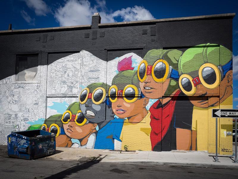 Streetart in Detroit di aerre9000