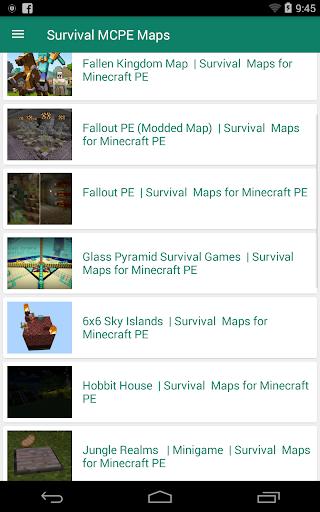 Abandoned City for Minecraft PE 1.8 screenshots 1
