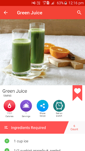 Juice Recipes for Android apk 6