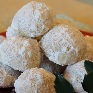 Mexican Wedding Cookies.