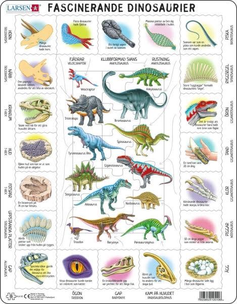 Larsen Pussel Dinosaurier Fakta