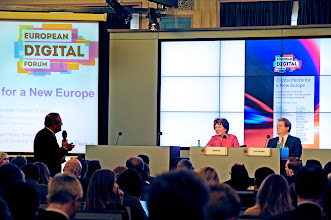 Photo: Launch of Digital Minds for a New Europe, an e-book featuring 44 essays by the world's leading thinkers on the challenges ahead – and the solutions digital technology will provide