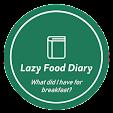 Lazy Food Diary