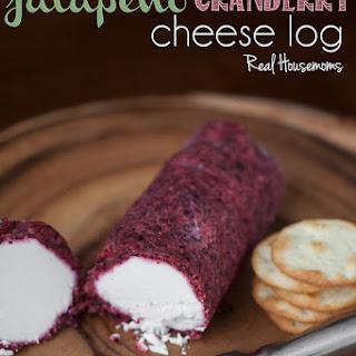 Cranberry Jalapeño Cheese Log