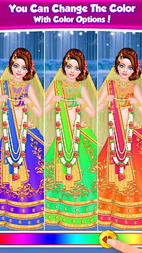 Royal Indian Doll 2 Wedding Salon Marriage Rituals android2mod screenshots 5