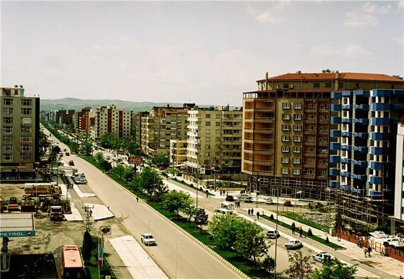 A cidade de Batman na Turquia