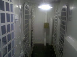 Photo: the brig - those cells were SMALL!