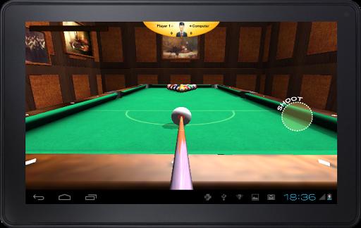 台球虛擬3D