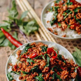 Thai Basil Chicken (Gai Pad Krapow).