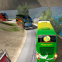 Bus Racing 3D - Hill Station Bus Simulator 2019 icon