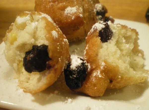 Mini Blueberry Corn Fritters Recipe