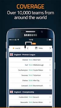 Στόχος Live Scores APK screenshot thumbnail 5