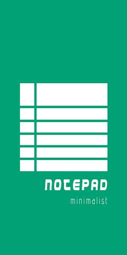 Notepad: Minimalist Notepad 1.1 screenshots 1
