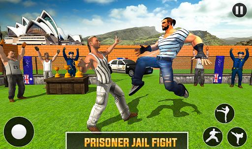 Grand Ring Battle: Fight Prisoner Karate Fighting android2mod screenshots 1