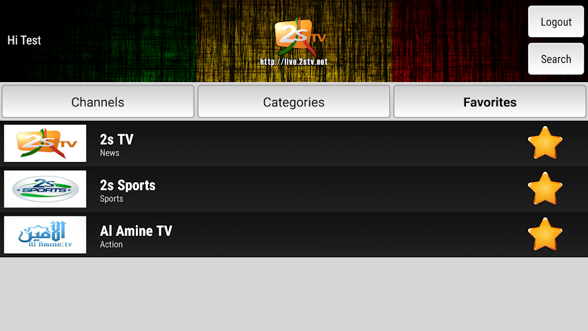 android 2STV Live Screenshot 3