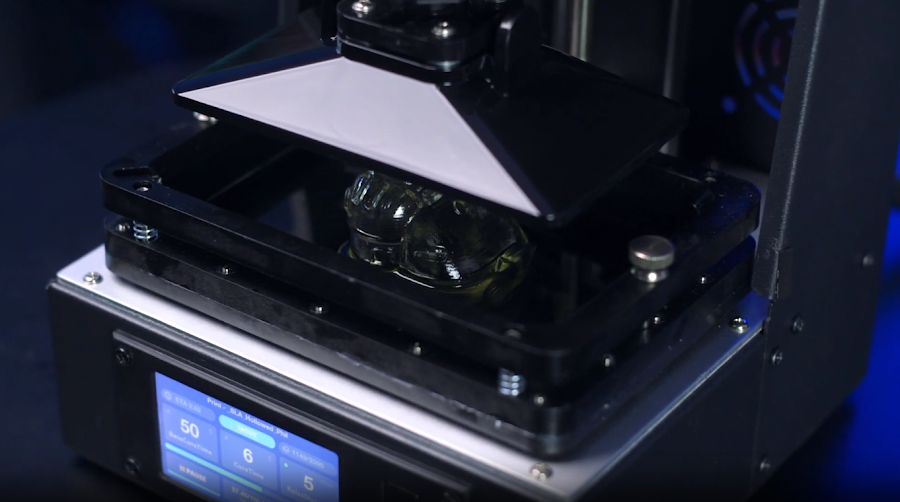 There is an absurd amount of detail that can be captured utilizing an SLA 3D printer.