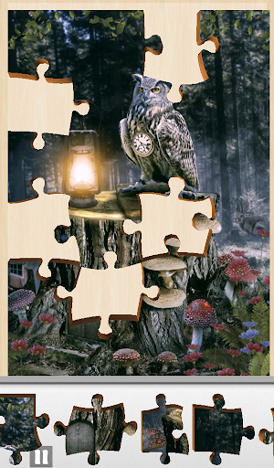 Hidden Jigsaw - Treehouse