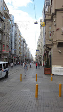 Photo: walking down Istiklal