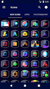 Porent - Icon Pack Apps (apk) baixar gratuito para Android/PC/Windows screenshot