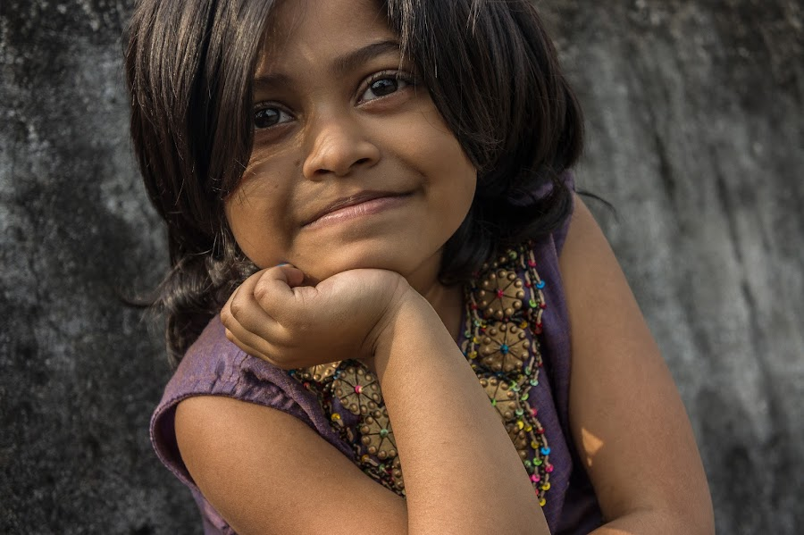 Diya - 1 by Saikat Surai - Babies & Children Child Portraits ( 6+, indian, children, portrait )