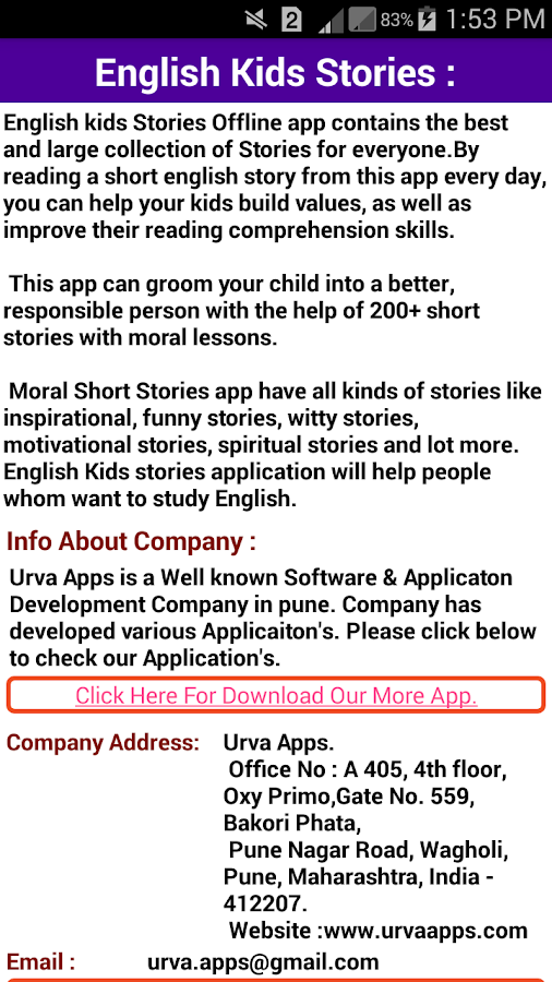 short stories in english for kids pdf