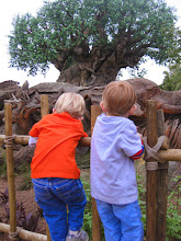 Photo: Day 5 - Surely these fences aren't designed to keep two determined toddlers out of an exhibit, right?  :-)