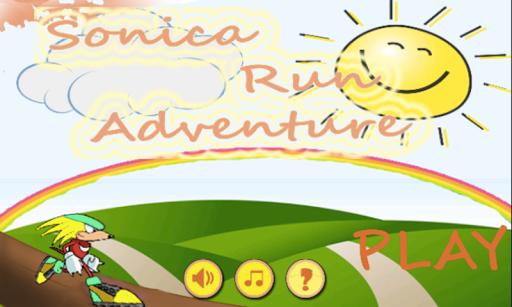 Sonica Run Adventure Free Game