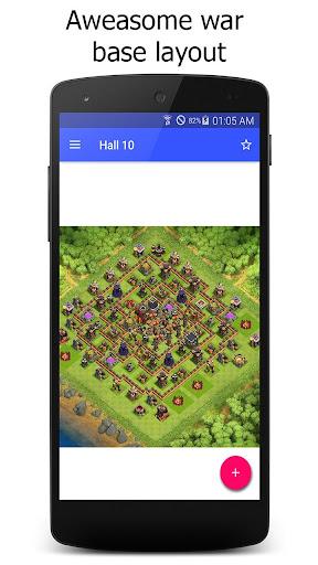 Maps for Clash of Clans War 1.7 screenshots 5