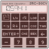 Simple RPN Calculator SRC-30CV