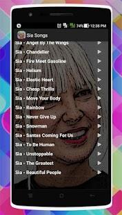 Sia Songs - náhled