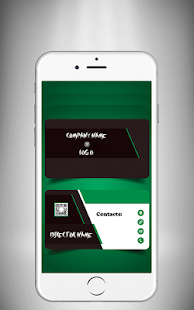 Business card maker apps on google play screenshot image reheart Choice Image
