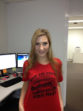 Photo: One of Kara's last Geek Shirts. We'll miss you K-Bomb!