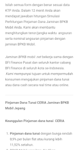 Gadai BPKB Mobil Pinjaman Dana Tunai - náhled