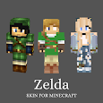 Skin Zelda and Maps for Minecraft