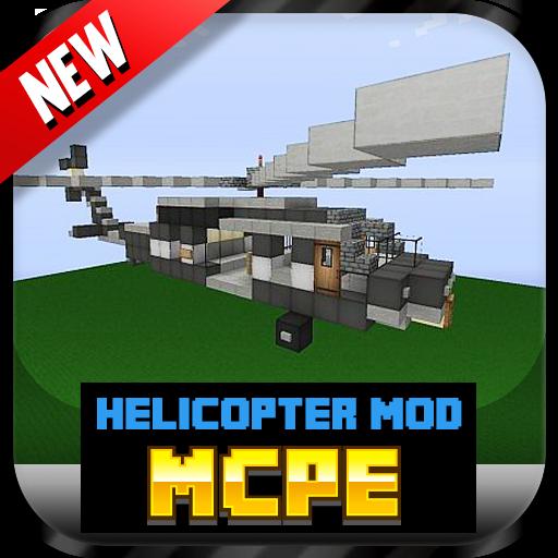 娱乐のHelicopter Mod For MCPE* LOGO-記事Game