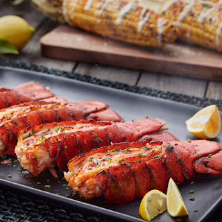 Grilled Lobster Tails with Sriracha Butter Recipe